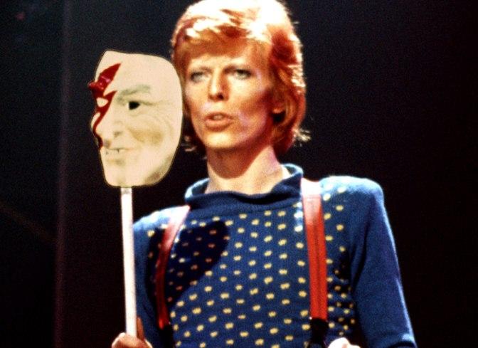 David Bowie mask