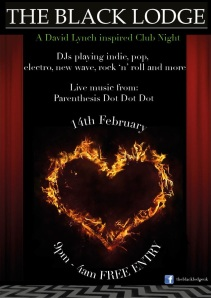 black lodge flyer 14 Feb 2014