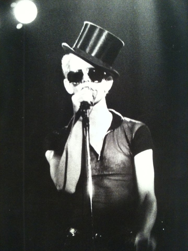 lou reed top hat